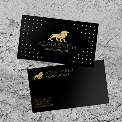 Standard & Bulk Run Business Cards