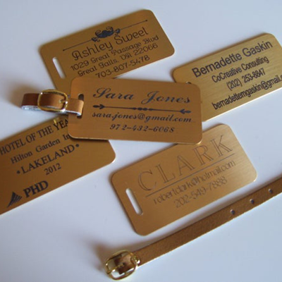 Engraved Tags / Badges